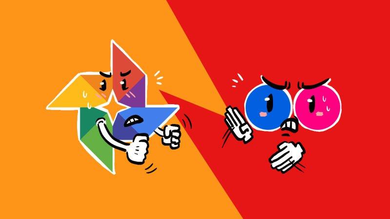 Google vs Flickr