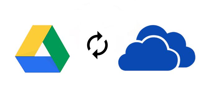 Google Drive und OneDrive synchronisieren