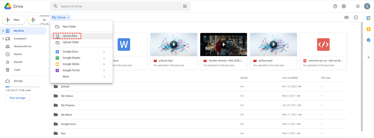 3 Free Ways To Copy From Onedrive To Google Drive