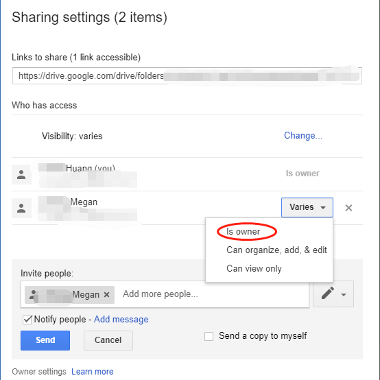Solved: How To Transfer All Google Drive Files from One