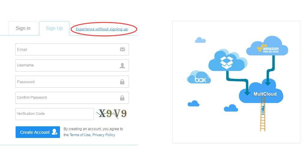 Cloud File Transfer Free Tool - MultCloud