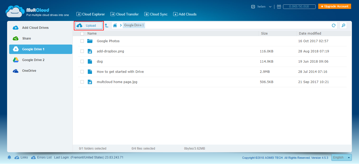 Free and Directly Copy URL to Google Drive/OneDrive/Dropbox