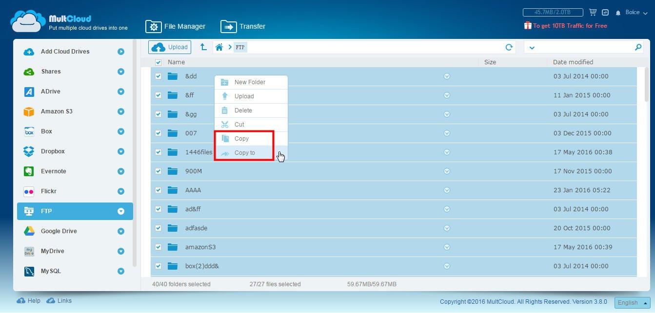 Ftp Backup To Amazon S3 Dropbox Google Drive Etc