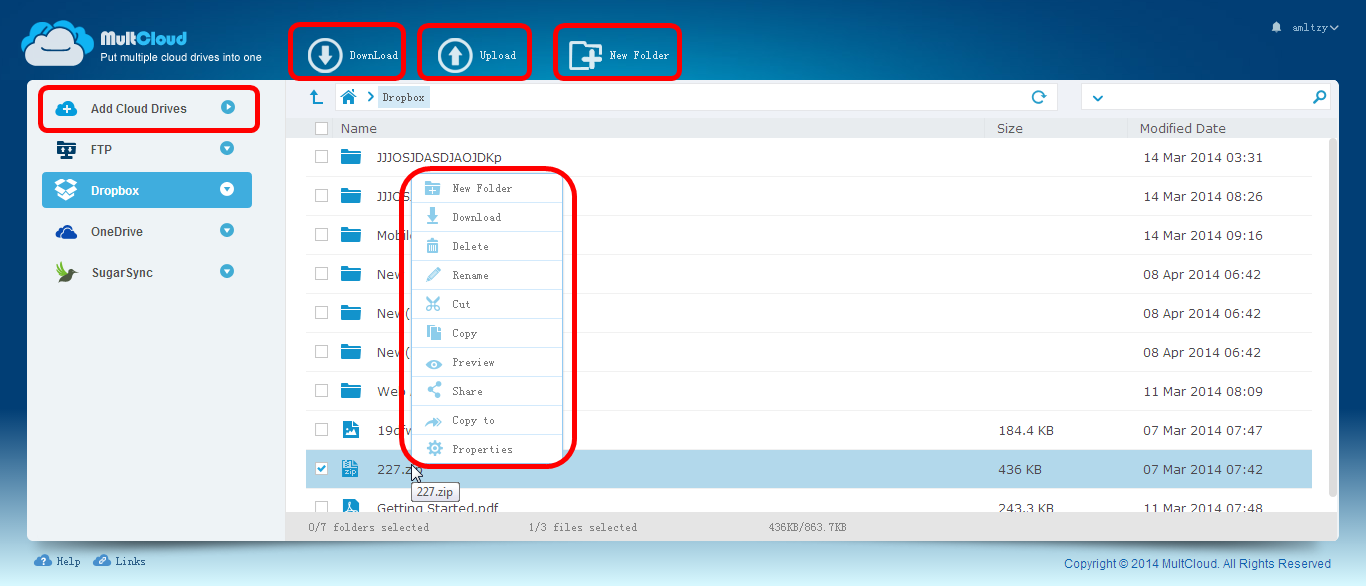 Multcloud Helps You Manage All Cloud Storage In One Place