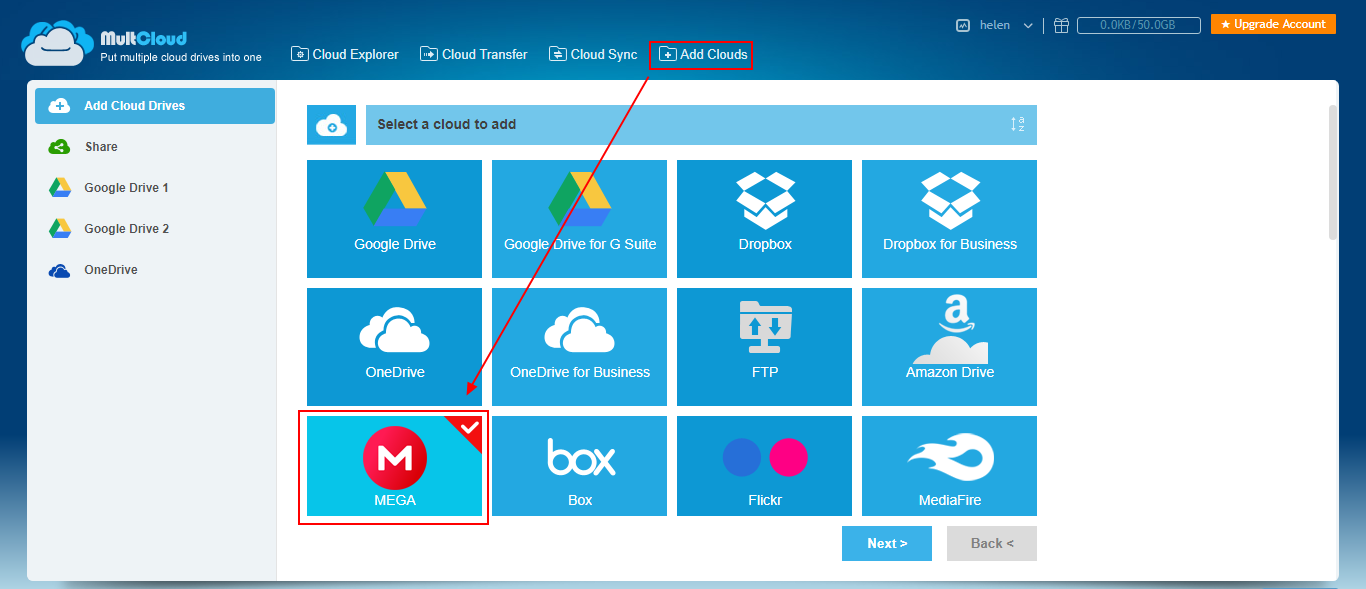 How to Remote Upload to MEGA Directly from URL?