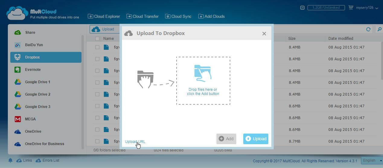 Instantly Save Web Files to Dropbox from URL